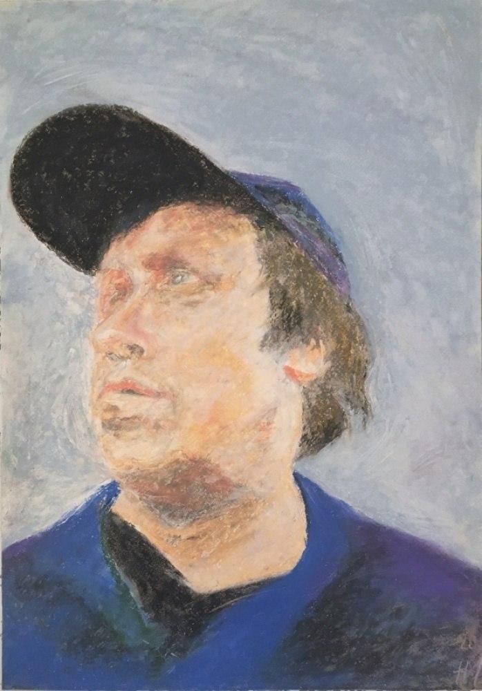 Портрет художника О. Хвостова