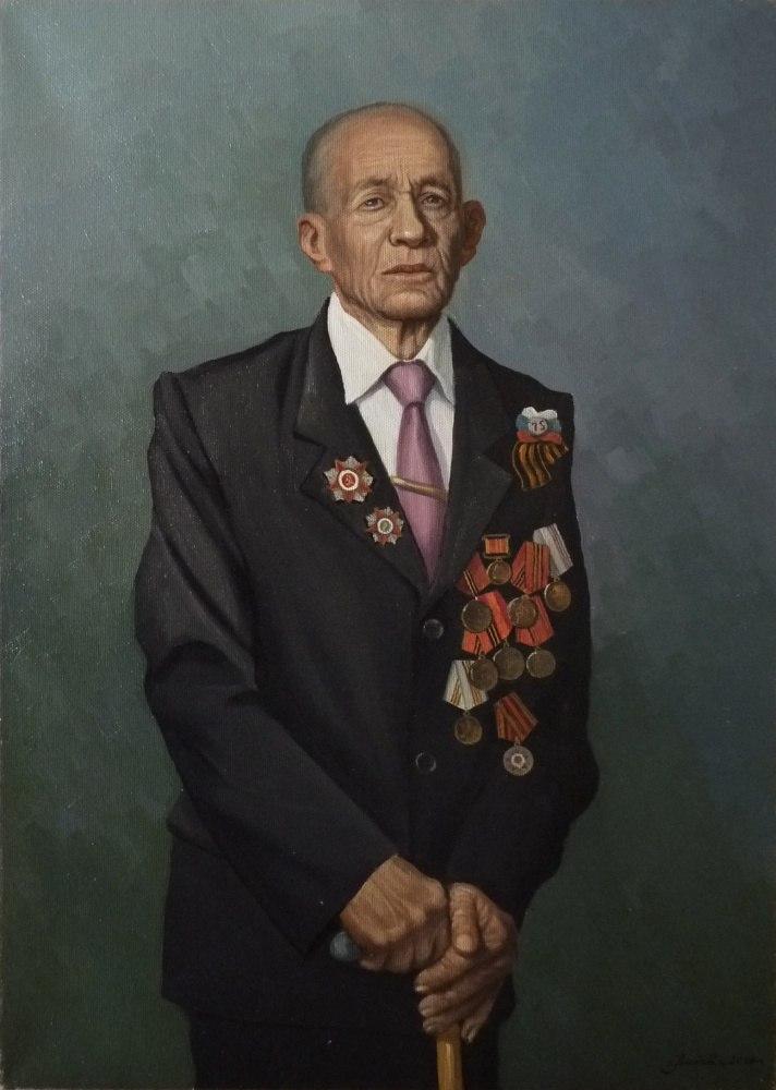 Ветеран ВОВ Диденко И.А.