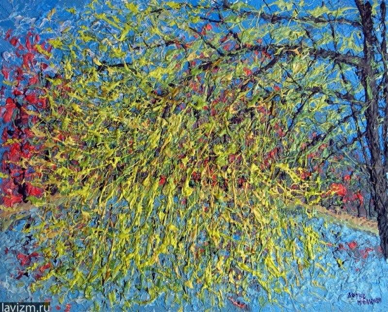 Картина Воронцовский парк Ива Импрессионизм