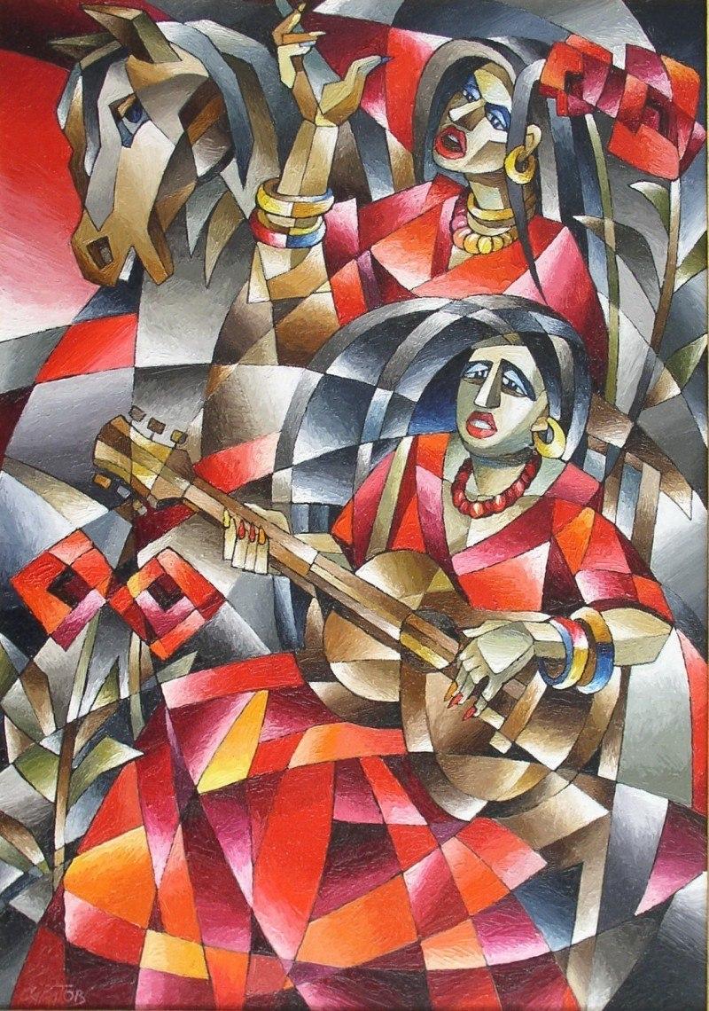 Цыганская песня, дуэт