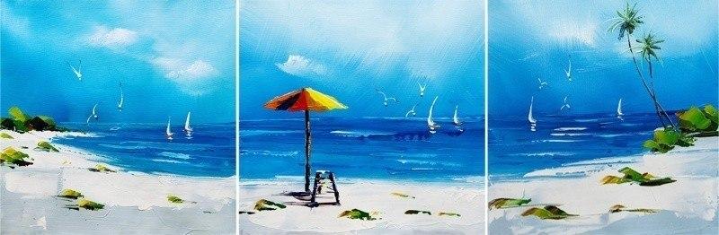 Пляжные истории. Триптих