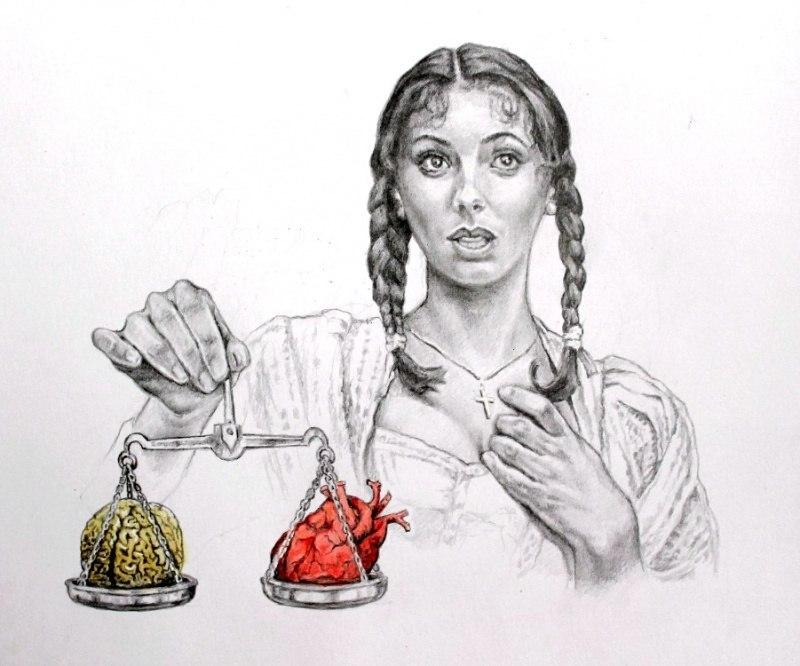 Умом или сердцем?