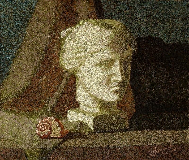 Натюрморт с головой Афродиты