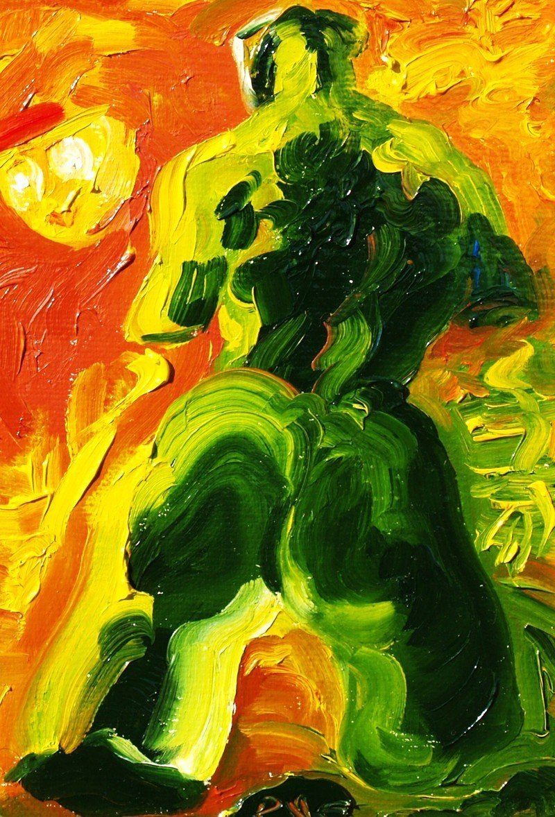 Танцы с привидением (триптих,правая часть).