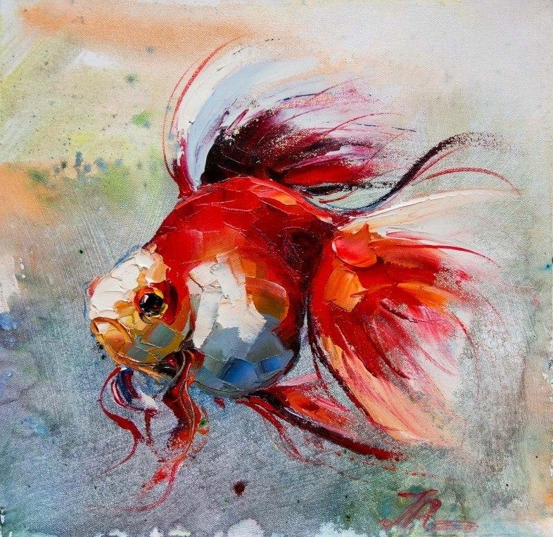 Золотая рыбка для исполнения желаний. N9