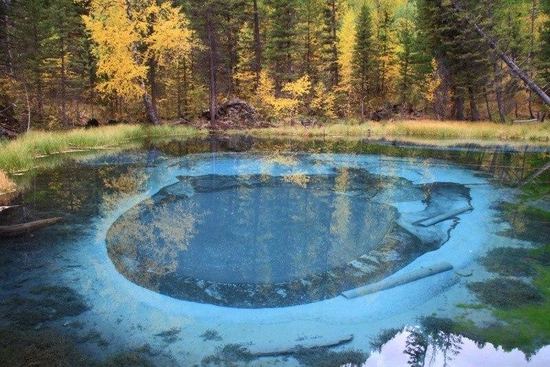 Волшебное озеро.