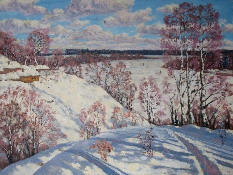 Февраль.зима