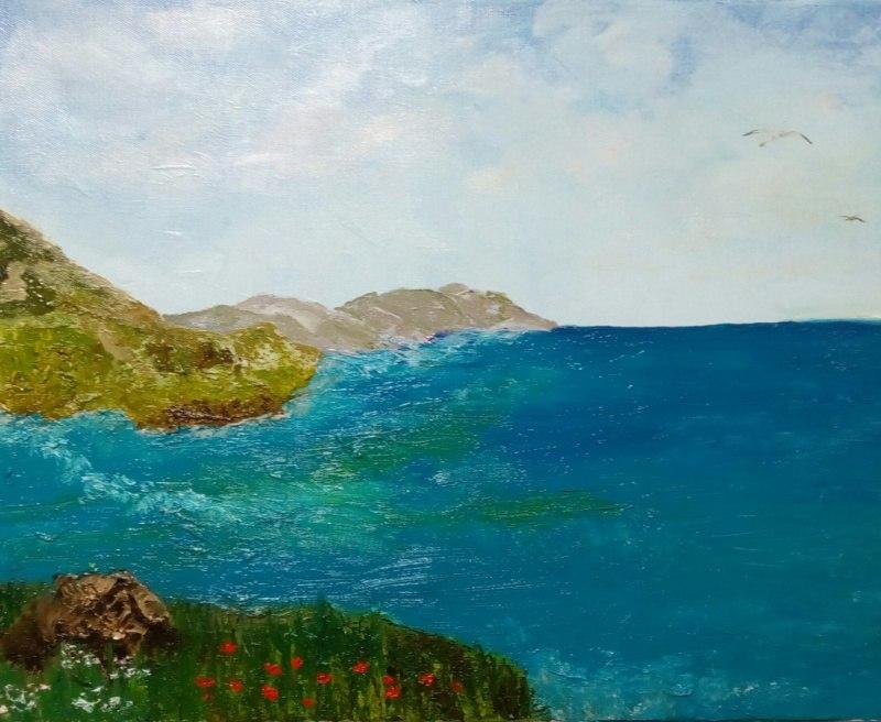 Море в полдень