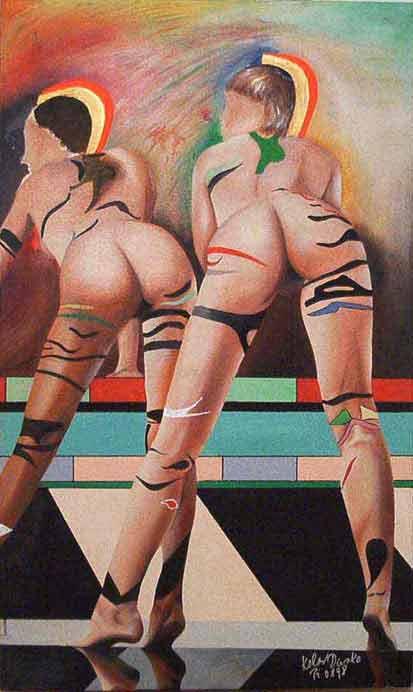 Две эротические женщины