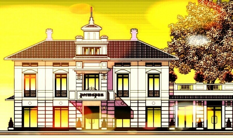 ретро-фасад