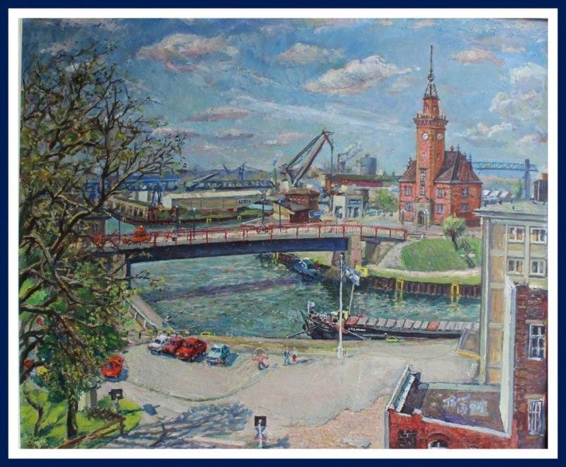 Речная гавань в Дортмунде