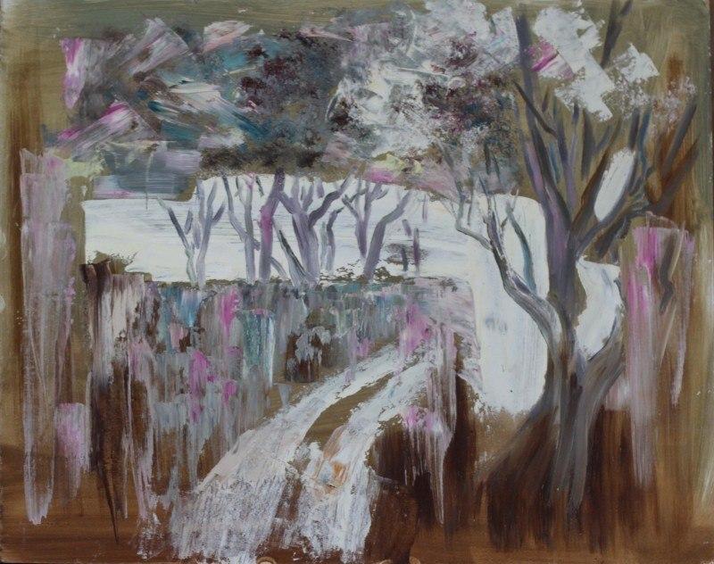 Деревья весна