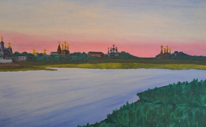 Закат над Которослем