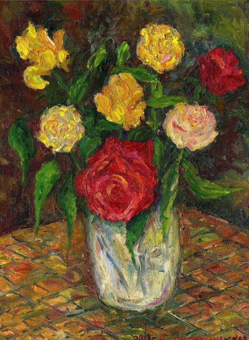 Тот самый праздничный букет ярких цветов !