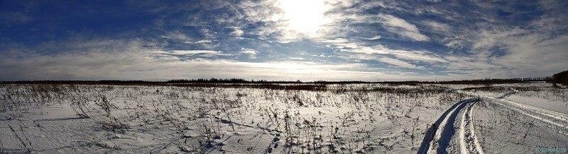 Мороз и солнце, день чудесный...