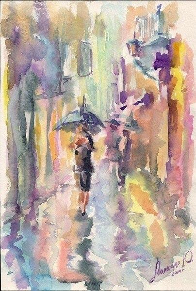 Краски дождя