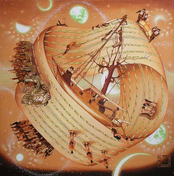 Корабль дураков в бесконечности (триптих «Время»)