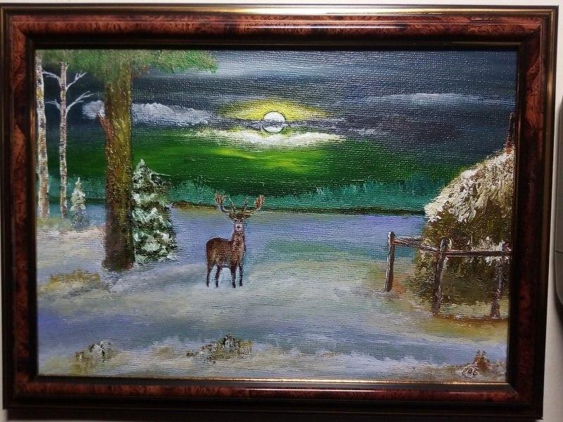 Однажды в зимнем лесу