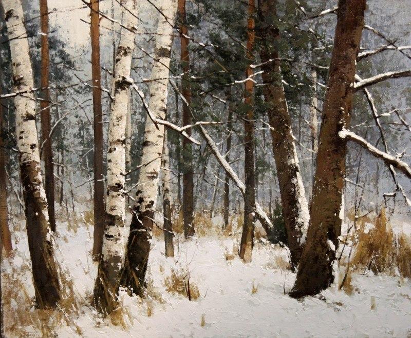 Первый снег. Декабрь