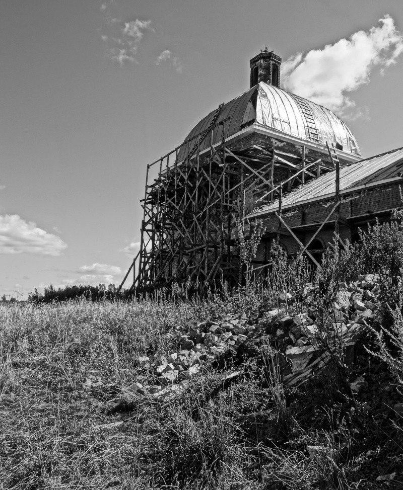 Филимоново. Село и Церковь Димитрия Солунского
