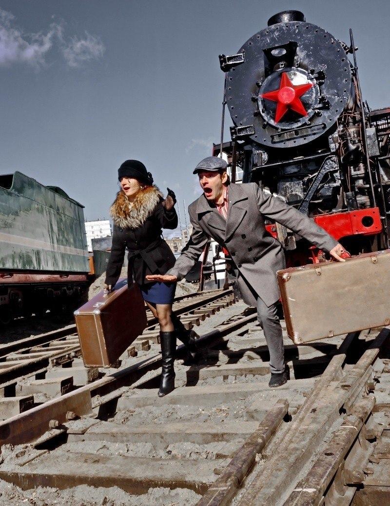 Фотосессия Ретро поезд