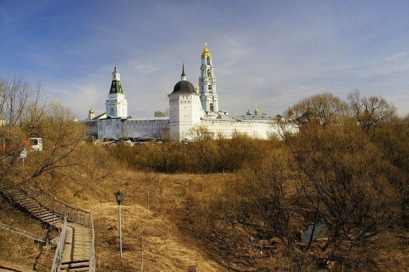 Взгляд на Троице-Сергиеву Лавру