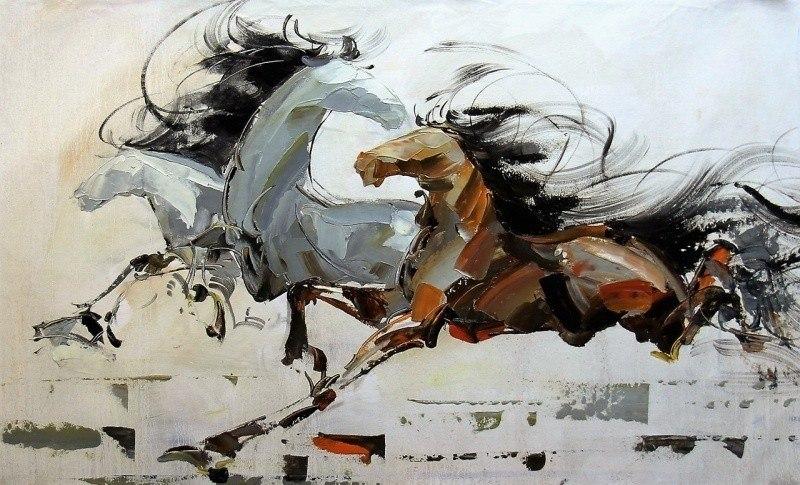 Лошади N1