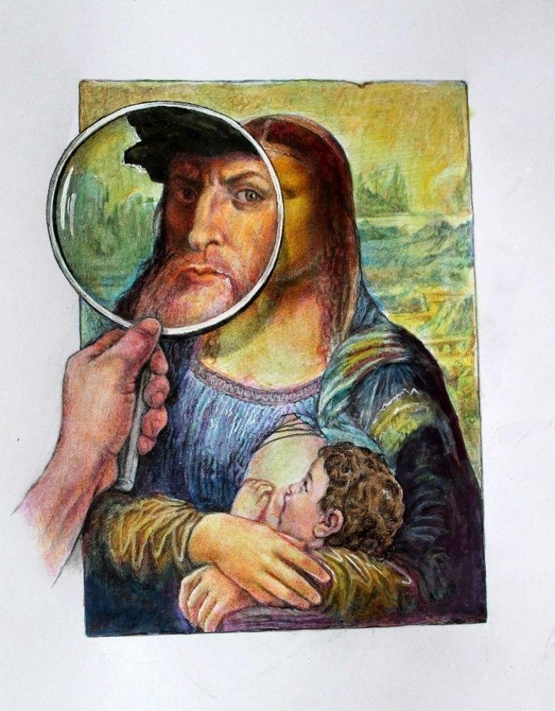 Кто на самом деле изображён на портрете.