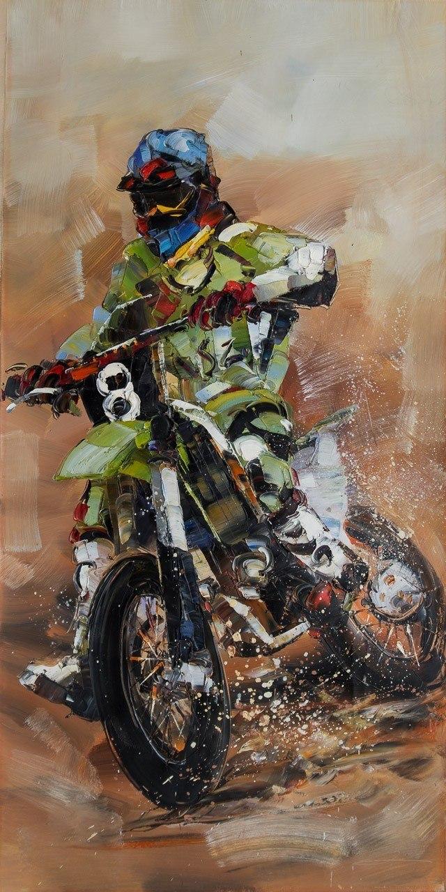 И снова гонки N2 (Серия Мотоциклы)