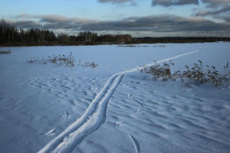 Подмосковная зима ......