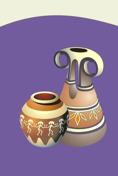 эскиз керамических изделий