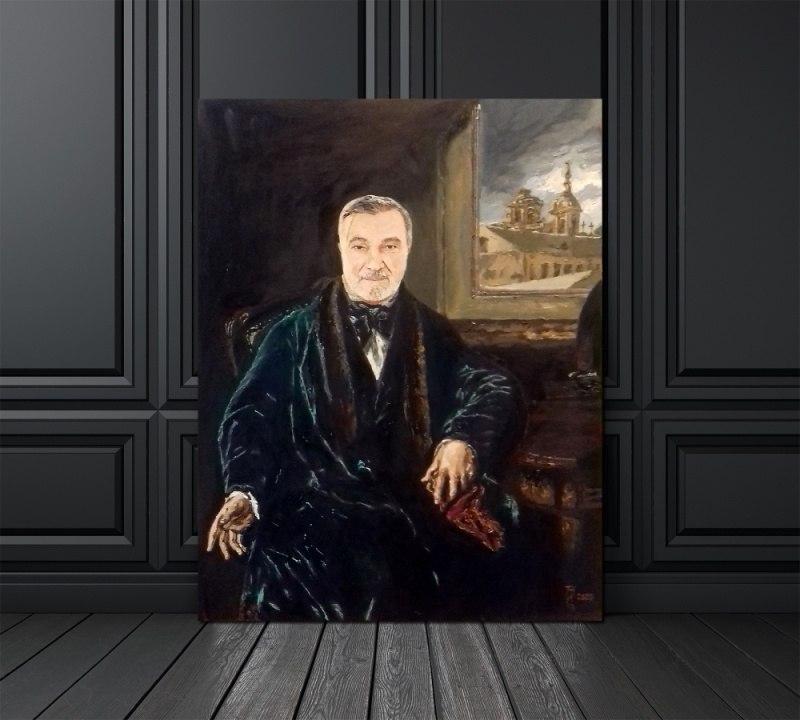 Портрет хирурга Вадима Петровского