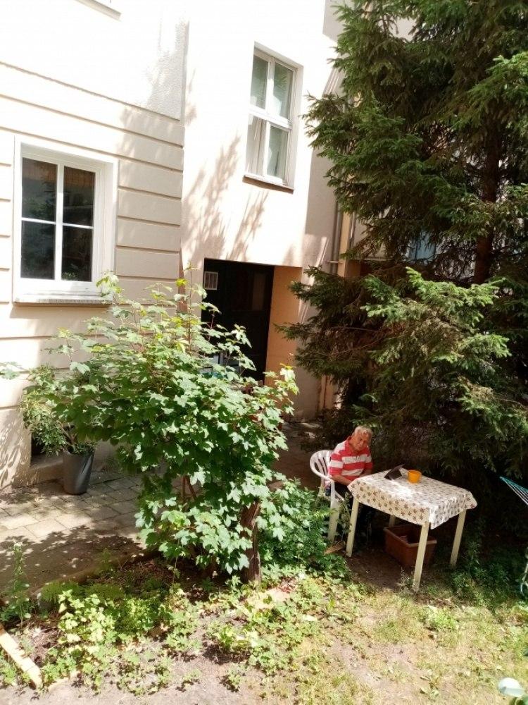 Берлинский двор в летнюю пору.