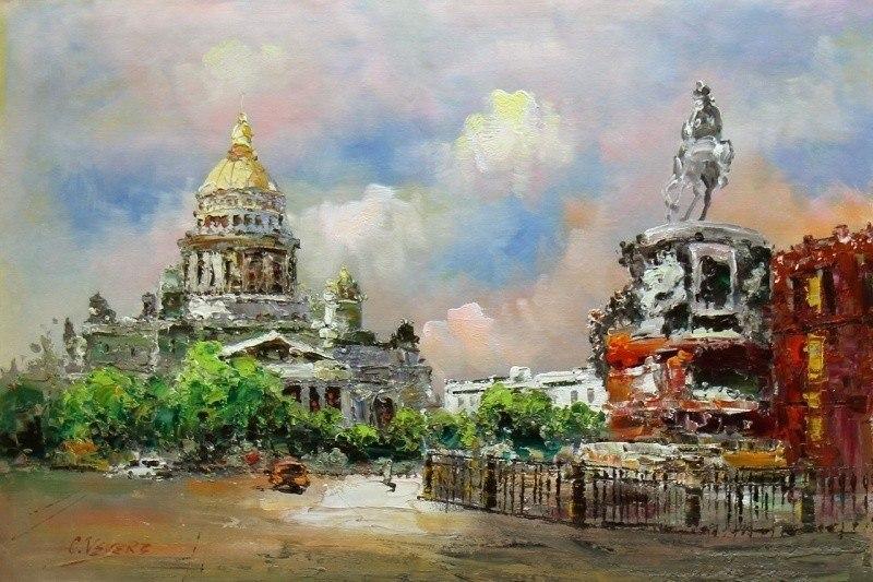 Санкт-Петербург. Исаакиевская площадь N