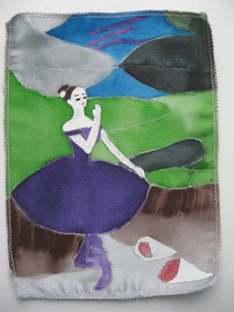 Эдгар Дега, «Балерина с букетами»