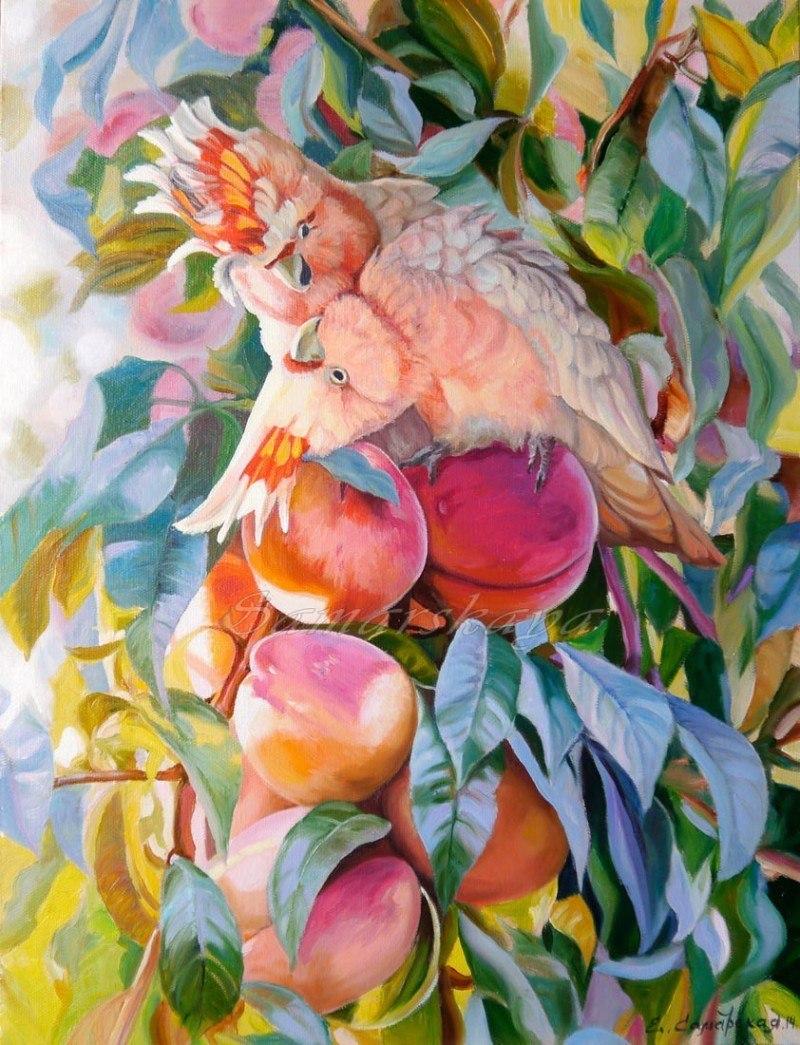 Персиковый поцелуй
