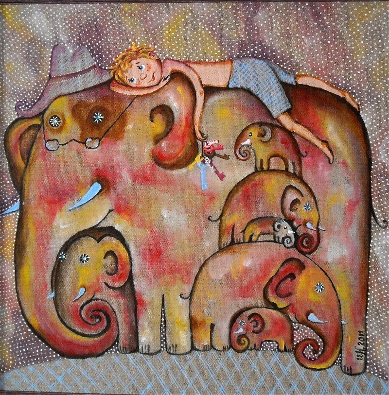 Семь слонов на счастье