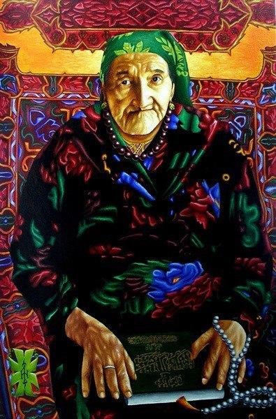 Портрет старушки Магуда