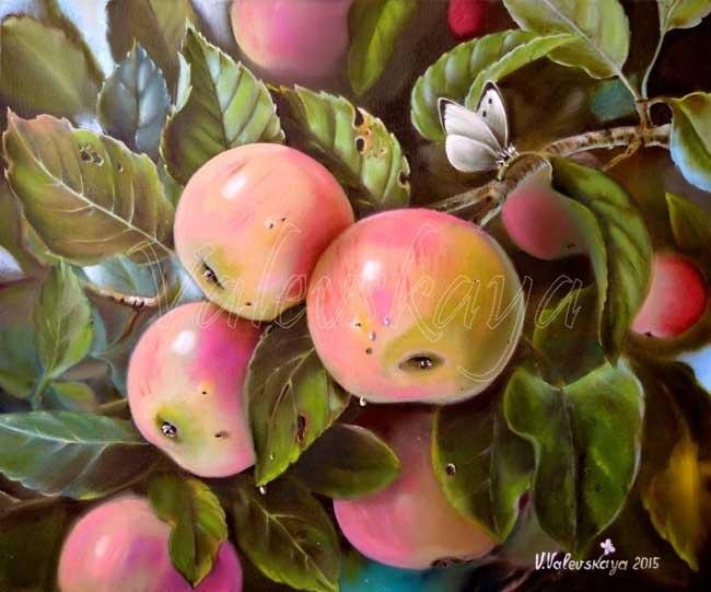 Наливные яблоки
