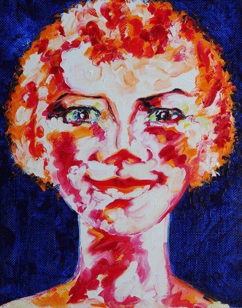 Solnyshko (Portrait of a young Englishwoman).