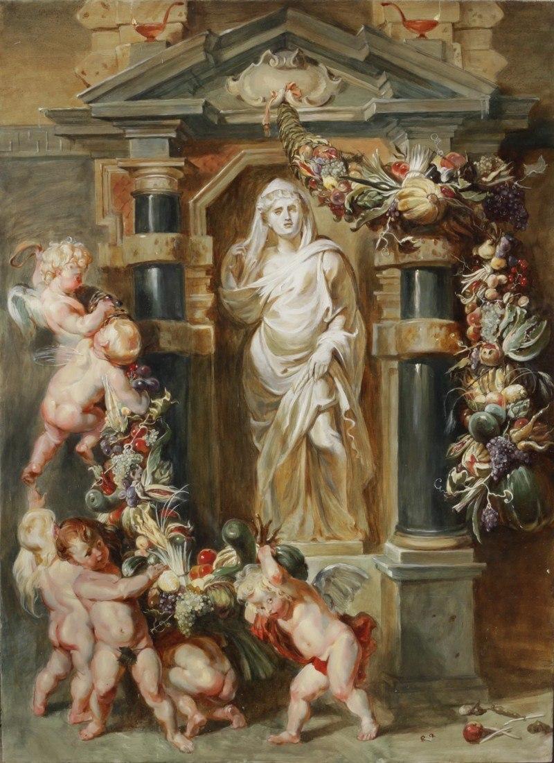 Статуя Цереры , Рубенс Питер Пауль