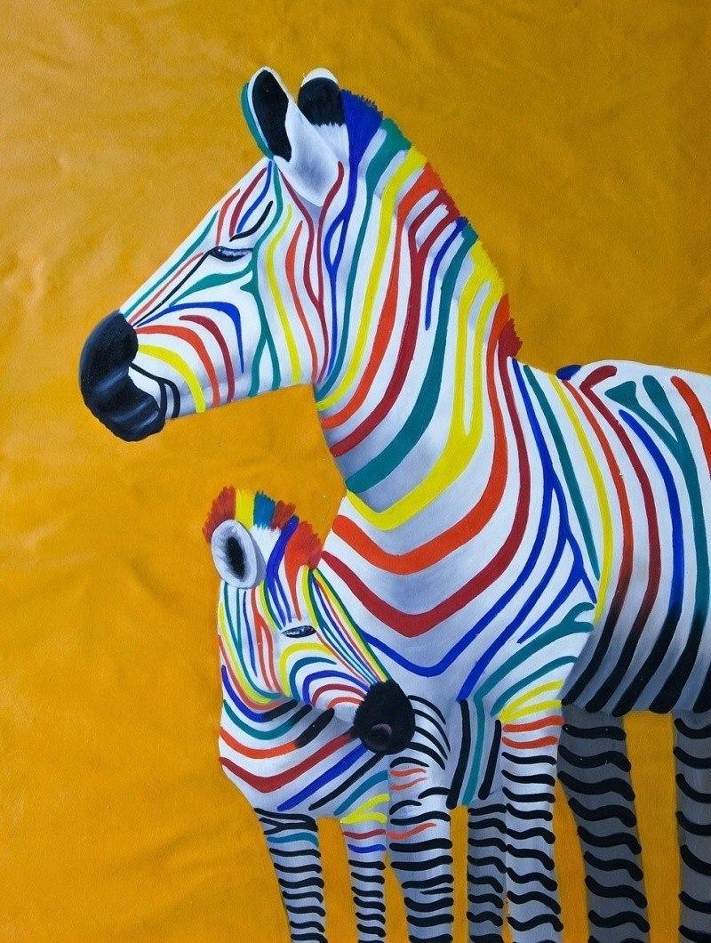 Разноцветные зебры. Дочки-матери