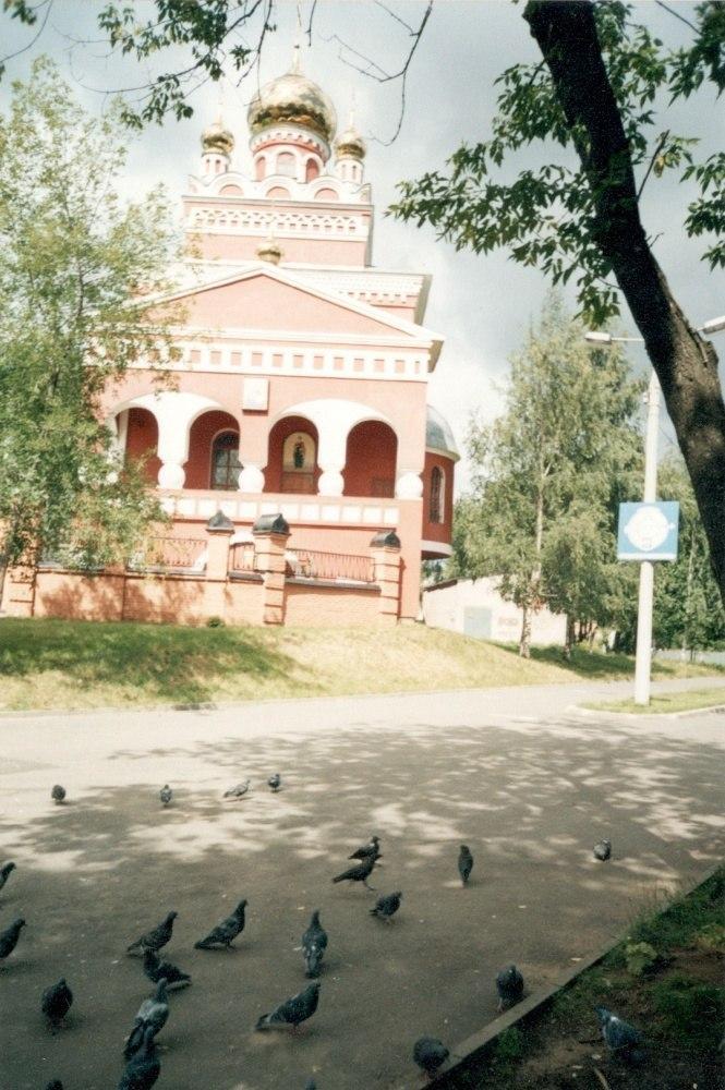 Собор в розовом