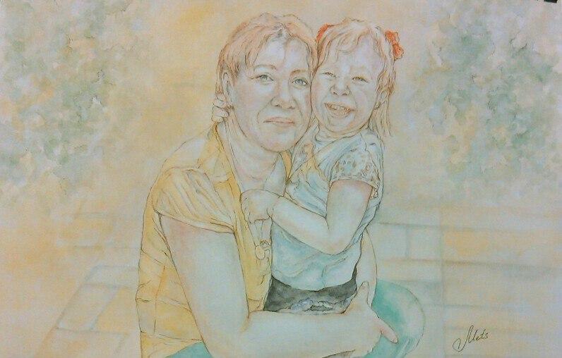 Портрет с ребенком