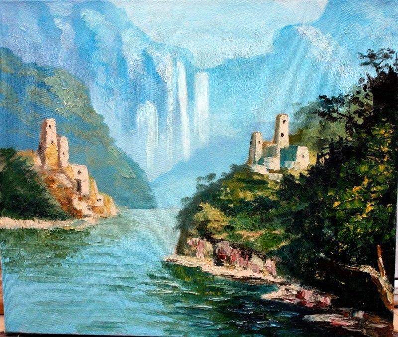 Аул у водопада (Мечта кавказца)