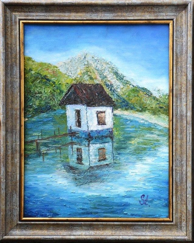 Дом на озере.