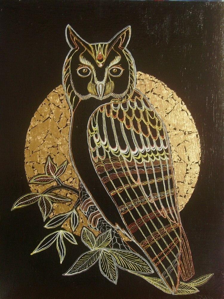 Сова-символ мудрости.