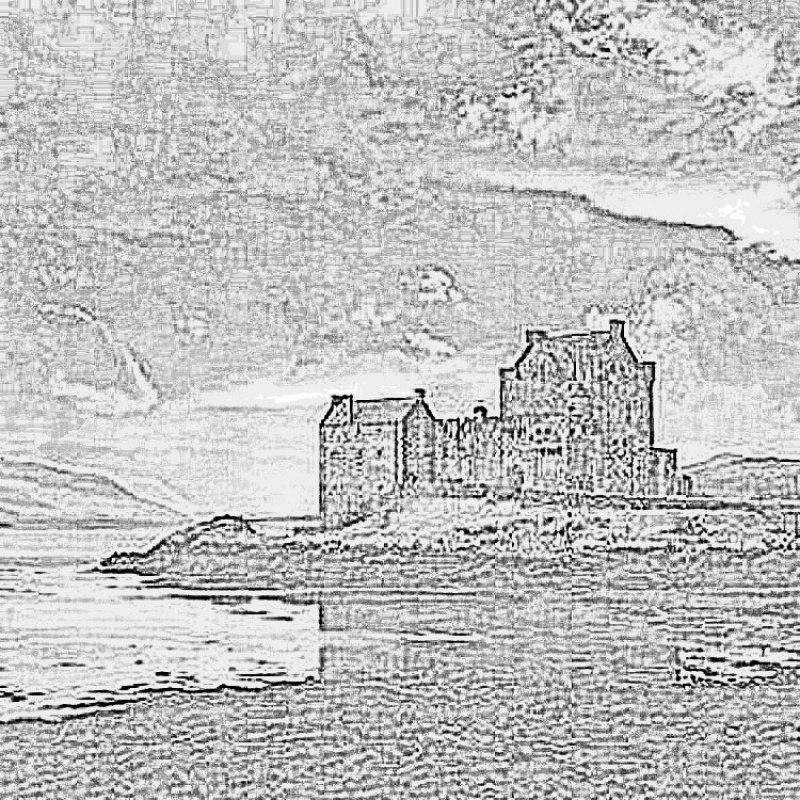 Замок Эйлин, лермонтовские мотивы