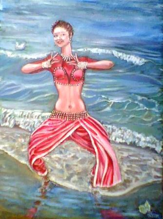 Индийский танец по-одесски
