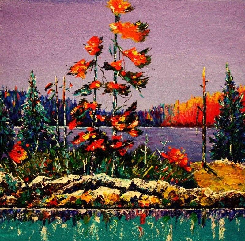 Озера Севера, Осень,
